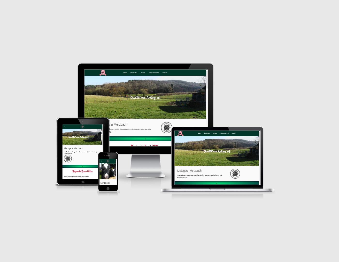 Webdesign Bad Neuenahr-Ahrweiler hat eine neue Webseite für eine Metzgerrei erstellt